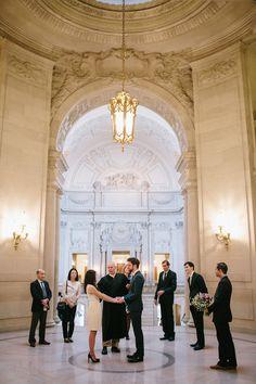 Stunning San Francisco City Hall Elopement - San Francisco City Hall Wedding Photographer // SimoneAnne.com