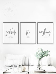Grateful for Everything Printable Quote, Gratitude. Grateful for Everything Printable Quote, Gratitude Quotes, Grateful for the Small Things Gratitude Wall Art Modern Gratitude Printable Quote Living Room Sets, Living Room Furniture, Living Room Decor, Bedroom Decor, Wooden Furniture, Antique Furniture, Bedroom Wall Art Above Bed, Cozy Living, Furniture Stores