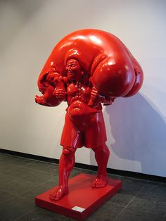 Chen Wenling Sculpture in the Duolun Museum by studiokumar, via Flickr
