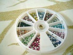 Rhinestones, Craft Supplies, Bling, Pearls, Storage, Random, Colors, Shop, Diy