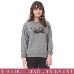 T-Shirt Trade In Event is going on NOW! Trade in your clean, used t-shirt (1 or more) and receive $10 off each novelty t-shirt or sweatshirt! Today through Sunday, October 18. All shirts collected will be donated to Housing Works! #freshmerchdaily #tradein #tshirt #sweatshirt #novelty #happeningnow #nyc