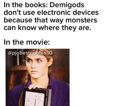 Another thing wrong with the movies that share the same name as our beloved books.