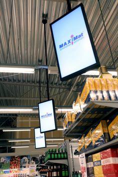 Maximat, Sweden. Last Meter Marketing by ZetaDisplay.