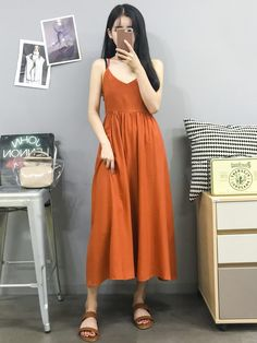 korean and japanese fashion // tags Simple Dresses, Cute Dresses, Vintage Dresses, Casual Dresses, Fashion Dresses, Korean Fashion Trends, Korea Fashion, Asian Fashion, Japanese Fashion Styles