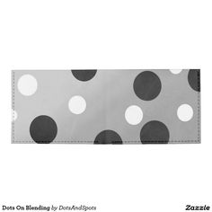 Dots On Blending Tyvek Wallet