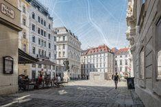 Hinter der Fassade ist Wien oft noch schöner als man meinen möchte. Die Stadt Wien hat nun einige Durchgangshäuser auf einer Karte markiert - für FußgängerInnen und alle, die es werden wollen. Vienna, Austria, Street View, City, Travel, Driving Route Planner, Signage, Explore, Destinations