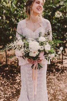Photographer: Michelle Roller | Event Venue: Calamigos Ranch | Event Designer: Fairy Godmother a Wedding & Event Company | Floral Designer: Blue Ladder Botany | DJ: David Krieger | Beauty: Beauty Affair | Bakery: Frost It Cakery | Cinema and Video: Ben Hess Films | Submitted via Two Bright Lights