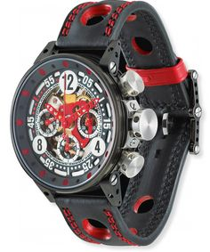 B.R.M. Watches V12-44 Sport Red Hands #bezel-fixed #bracelet-strap-leather #brand-b-r-m-watches #case-material-black-pvd #case-width-44mm #chronograph-yes #clasp-type-tang-buckle #date-yes #delivery-timescale-1-2-weeks #dial-colour-black #gender-mens #luxury #movement-automatic #official-stockist-for-b-r-m-watches #packaging-b-r-m-watch-packaging #subcat-brm-v12-44 #supplier-model-no-v12-44-sport-ar #warranty-b-r-m-watches-official-2-year-guarantee #water-resistant-100m