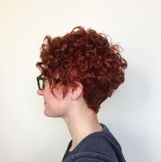 hair inspiration curly 120 Most Inspiring Curly Short Hair Ideas Hairstyles With Extra Touch of Femininity Short Curly Pixie, Short Straight Hair, Short Hair Cuts, Trendy Hairstyles, Straight Hairstyles, Zoella Hair, Long Face Shapes, Hair Lengths, Hair Trends