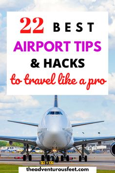 Want to travel like a pro? Here are the best airport tips and hacks you need to know| carry on airport tips| airport tips for first timers |airport tips and hacks | airport hacks and tricks | airport security tips | things to do at the airport | things not to do at the airport| things to do in an airport |travel tips for the airport |mistakes to avoid at the airport| airport tricks travel hacks #airporttipsandtricks #airporttipsandhacks #theadventurousfeet #airporttraveltips… Travelling Tips, Packing Tips For Travel, Travel Hacks, Travel Advice, Travel Essentials, Travel Guides, Packing Lists, Airport Hacks, Best Travel Apps