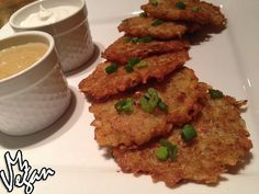 Potato Pancakes #vegan #latkes #veganlatkes #veganpotatopancakes