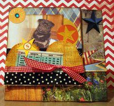 Handmade Yoshi card: Celebrating Shirley's belated birthday