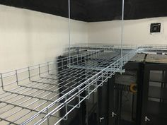 Bonet wire mesh cable tray used for G20 2016 road traffic monitoring server room.