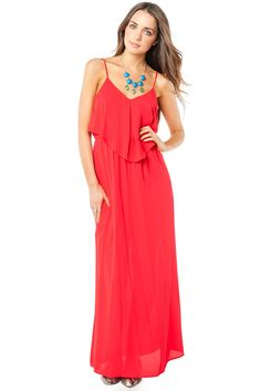 ShopSosie Style : Angelic Lives Dress in Red