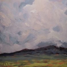 Cotton Candy Clouds free paintings in May -- Heidi Malott