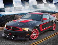 2015 Promotional Calendars - Road Warriors  Muscle Cars, Street Rods, Hot Rods Calendar - May  2012 Ford Mustang Boss  Imprinted with your Business, Organization or Event Name, Logo and Message as low as 65¢  Visit http://www.promocalendarsdirect.com/calendars/road-warriors today and start your 2015 Promotional Calendar Advertising Campaign