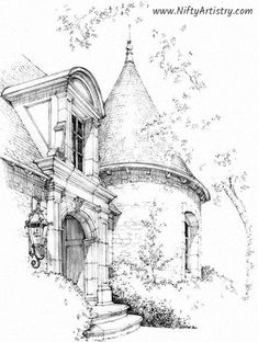 Architecture Drawing Discover Want to start Sketching Drawing and Creating? Click the image and get yourself a Drawing Set. Landscape Pencil Drawings, Pencil Art Drawings, Art Drawings Sketches, Landscape Art, Cool Drawings, Architecture Drawing Art, Architecture Sketchbook, Background Drawing, Perspective Art