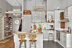 A cool vintage inspired space in Stockholm
