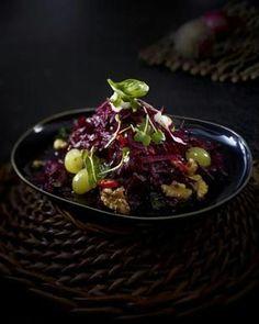 Scharfer Rote-Bete-Salat mit Trauben und Walnüssen Rezept - Chefkoch-Rezepte auf LECKER.de | Kochen, Backen und schnelle Gerichte