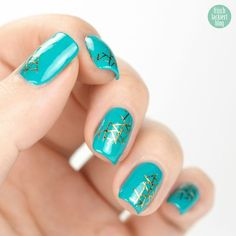 Absolute New York Nail Polish Turquoise