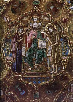 russianEnamels-оклад Евангелия. Фрагмент. Мастерские Московского Кремля   Flickr - Photo Sharing!