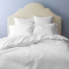 Loren White Bed Linens