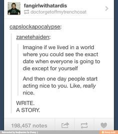 Short Story Ideas?