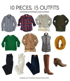 Fall Packing Mini Capsule Wardrobe 2015