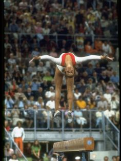 Olga Korbut - the reason I wanted to be a gymnast.