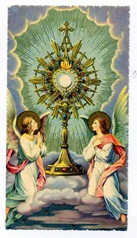 89. Shorter expositions of the Eucharist are to be arranged in such a way that the blessing with the Eucharist is preceded by a reasonable time for readings of the word of God, songs, prayers, and a period for silent prayer.[9]