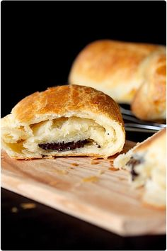Pain au chocolate.