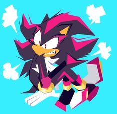 why ya mad shad Sonic The Hedgehog, Shadow The Hedgehog, Character Art, Character Design, Sonic Mania, Sonic And Shadow, Sonic Fan Art, Art Tutorials, Game Art