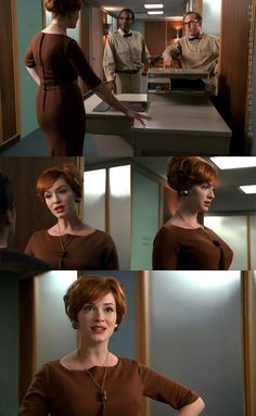Mad Men ~ Episode Stills ~ Season Episode For Those Who Think Young Mad Men Joan Holloway, Cristina Hendricks, Men Tv, Star Wars, Mad Men Fashion, Brown Aesthetic, Business Women, Business Lady, Perfect Woman