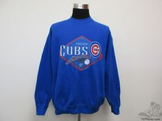 Vtg 90s Fruit of the Loom Chicago Cubs Crewneck Sweatshirt sz XL Extra Large MLB #FruitoftheLoom #ChicagoCubs  #tcpkickz