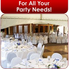 Party Rentals - Panama City, FL - Woodham Rentals & Sales - event reception - For All Your Party Needs!