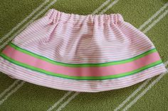 How to Make A Skirt (Very Easily)---Or enter to WIN one!!!