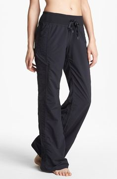 Fave from the anniversary sale.. So stinkin comfy & surprisingly flattering!!    Zella 'Move' Pants available at #Nordstrom