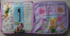Disney Fairies Tinkerbell Activity Pillow Pink soft Plush Interactive Play Gift #Disney