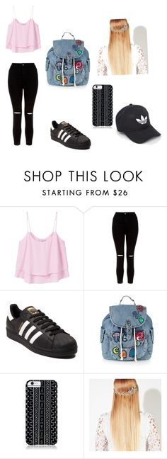 """""""Untitled #226"""" by timcaaa on Polyvore featuring MANGO, New Look, adidas, Topshop, Savannah Hayes and John Lewis"""