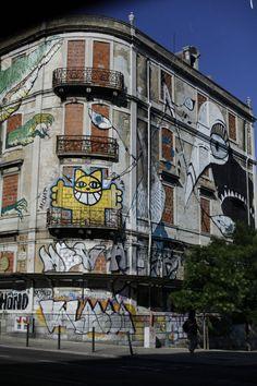 street art lisbonne gau