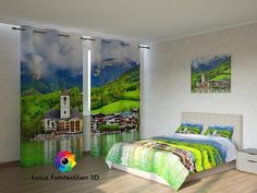 Fotogardine Fototextilien 3D bei Ebay.de kaufen