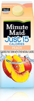 Minute Maid® Just 15 Calories Peach Flavored Fruit Drink - 59 fl oz Carton