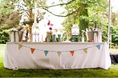 bunting for wedding | More wedding DIYs and crafts today! I've got lots to do before the big ...