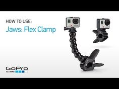 How to use the Jaws: Flex Clamp Mount.