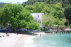 Agnondas on the island of Skopelos, Greece--my favorite calamari on the island!!