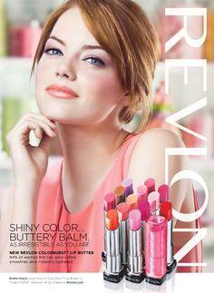 Revlon Advertising with Emma Stone