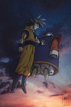 Goku with King Kai Dragon Ball Z, Dragon Ball Image, Manga Anime, Anime Art, Dragon Images, Anime Costumes, Fanart, Animes Wallpapers, Anime Merchandise