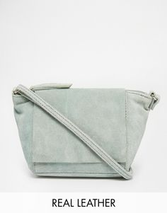 ASOS Festival Suede Cross Body Bag