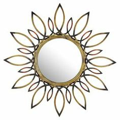 I wonder if this mirror could be made on the cheap with toilet paper rolls?