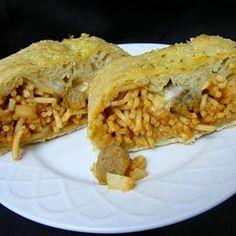 Spaghetti Bread  - Allrecipes.com